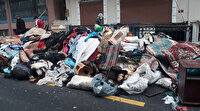 Esenler'de bir evden 3 kamyon çöp çıkartıldı: 'Ev sahibinin psikolojik problemleri var'