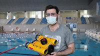 Üniversite öğrencisi insansız su altı aracı geliştirdi