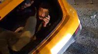 Polisleri şaşırtan manzara: Ceza yememek için bagaja girdi