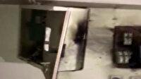 Kayseri'de yıldırım düşen caminin minaresi yıkıldı: Yıldırımın düşme anı kameraya yansıdı