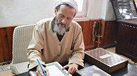 Fahrettin Koca için 6 ayda el yazması Kur'an-ı Kerim yazdı:  O dertlendikçe biz de dertlendik