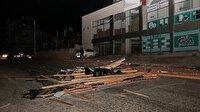 Bilanço ağır: Konya'da fırtına 24 evin çatısını uçururken 3 kişilik aile sobadan zehirlendi