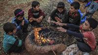 Kamplarda çocuklar soğuktan kaçarken astıma yakalanıyor