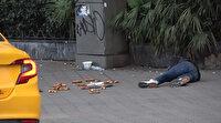 Taksim Meydanı'nda yine bayılma numarasıyla duygu sömürüsü: Bu sefer ceza kesildi