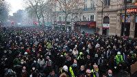 Fransızlar güvenlik yasa tasarısına karşı özgürlüklerini korumak için yürüdü