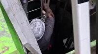Kayseri'de foseptik çukuruna düşen işçiyi itfaiye ekipleri kurtardı