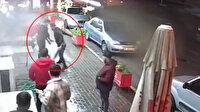 İzmir'deki haraç dehşeti kamerada: İstediği parayı vermeyince bıçakladı