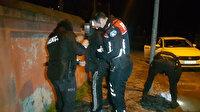 Sokak kısıtlamasında uyuşturucuyla yakalanan adam, 'İmdat adam öldürüyorlar' diye bağırdı