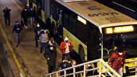 56 saatlik kısıtlama sona erdi İstanbul'da hareketlilik başladı