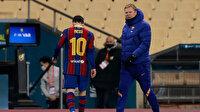 Barcelona hem kupayı hem Messi'yi kaybetti: İlk kez kırmızı kart gördü