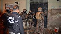 Adana'da şafak vakti 'torbacı' operasyonu