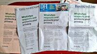WhatsApp kullanıcılarını kaybetmemek için çırpınıyor: Gazetelere tam sayfa ilan verdiler