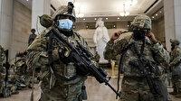 Joe Biden'ın yemin töreni öncesi Meclis'e konuşlandırılan askerlerin silahı var şarjörü yok
