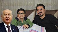 Devlet Bahçeli matematik dünya şampiyonu olan Yusuf Eymen'in eğitim masraflarını karşılayacak