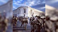 Amerikan özel birlikleri Kongre binasına hareket etti