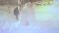 Zonguldak'ta kardan adamı yumruklayan şahıs güvenlik kamerasına yansıdı