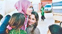 Gamze Zeynep Özçelik kamplardaki çocukları unutmadı