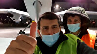 Selçuk Bayraktar AKINCI PT-3'ü arkasına alarak poz verdi: Yuvadan uçmadan önce evde son selfie