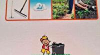 Hollanda'da ilkokul öğrencileri için İslamofobik eğitim içeriği hazırlandı: Allah yazısının çöpe atılması istendi