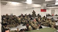 Otoparkta uyumak zorunda kalan ABD'li askerlere Biden'dan özür