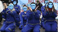 Berlin'de Çin'e karşı büyük yürüyüş: Uygurlara yönelik soykırımı durdurun