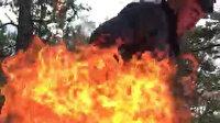 Karabük'te ateşi benzinle harlamaya kalkan genç faciaya neden oluyordu
