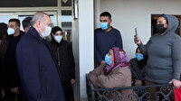 Cumhurbaşkanı Erdoğan, depremzedeler için yapılan konutların teslimi öncesi vatandaşlarla sohbet etti
