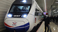 Ankara-Sivas Yüksek Hızlı Tren hattının testleri başladı