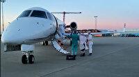 Hollanda'da rahatsızlanan koronavirüs hastası Türk, ambulans uçakla Türkiye'ye getirildi