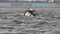 Tekne batıran lodos: Marmara Körfezi'nde balıkçı teknesi battı