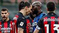 Inter kupada Milan'ı eledi, Lukaku-Ibrahimovic tartışması geceye damga vurdu (ÖZET)