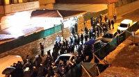 Cemaat liderinin mezarı taşındı: Arbede çıktı çok sayıda gözaltı var