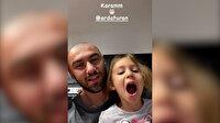 Burak Yılmaz, kızlarıyla çektiği video ile Arda Turan'ın doğum gününü kutladı