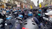 Fransa'da güvenlik yasa tasarısı protestolarında arbede yaşandı