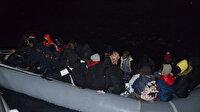 Yunanların Türk kara sularına ittiği 48 sığınmacı kurtarıldı