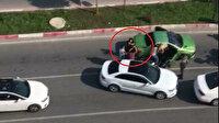 Şehir eşkıyası trafikte 3 kadına sopayla saldırmıştı: Cezası belli oldu
