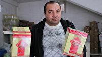 Adıyaman'da seyyar satıcıdan aldığı çay paketlerinden hayvan gübresi çıktı