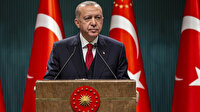 """Cumhurbaşkanı Erdoğan'dan salgın döneminde """"destek"""" paylaşımı: Vatandaşımızın yanında olmaya devam edeceğiz"""