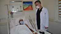 Baş dönmesi şikayetiyle hastaneye giden 49 yaşındaki adam beyninde tümör çıktı