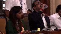 Hintli yetkili, toplantı esnasında su sandığı dezenfektanı içti