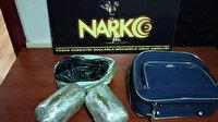 Eniştesinin bıraktığı valizden şüphelenip 982 gram bonzai yakalattı: Polis enişteyi arıyor