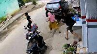 Endonezya'da depreme yakalananların panik anları kamerada