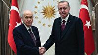 Beştepe'de sürpriz görüşme trafiği: Erdoğan önce Bahçeli ardından AYM Başkanı Arslan ile görüşecek