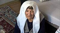 Aşı olan 90 yaşındaki Gülendam nine: Kendimi çok iyi hissediyorum Allah devletimize zeval vermesin