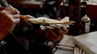 Emekli metal kalıpçısının ürettiği maket uçaklar gerçeğini aratmıyor