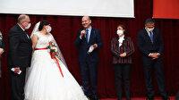 İstanbul Valiliği'nin projesiyle salgında sığındıkları otelde tanışan çift dünya evine girdi