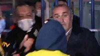Fenerbahçeli taraftar, Abdurrahim Albayrak'a saldırdı