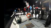 İzmir'de Türk kara sularına geri itilen 19 göçmen kurtarıldı