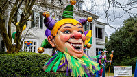 ABD'de Mardi Gras Festivali salgın nedeniyle iptal edildi: Halk yine de evlerini süsledi