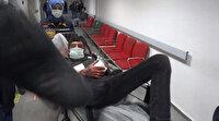 Aksaray'da kız meselesinden hastanelik olan adam hıncını kameramandan almak istedi
